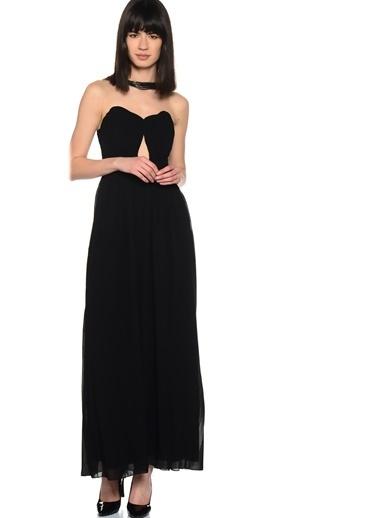 Little Mistress Uzun Abiye Elbise Siyah